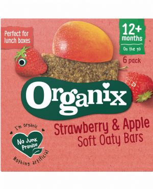 Strawberry Soft Oaty Bars 6x30g
